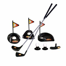 Indoor Outdoor Plastic Golf Practice Set Golf Tranning Aids Interactive Sports Game Educational Toys Gift For Kids Drop Ship