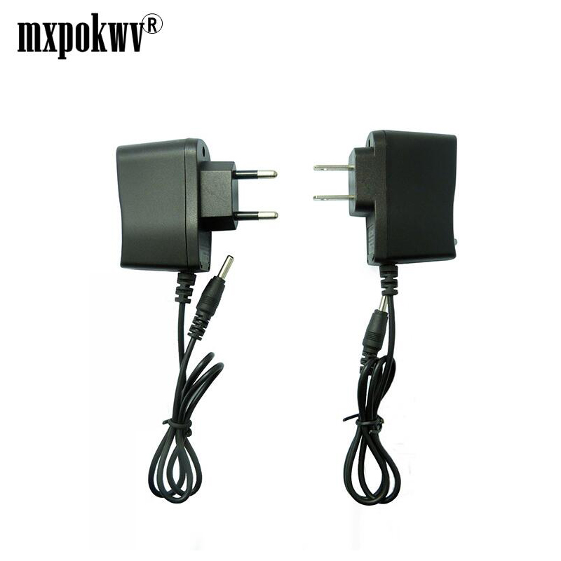 US EU Charger DC4.2V 3.5mm Flashlight Power Supply Charger 4.2V 500mA AC Smart Power Adapter 18650 Li-ion Battery Charger