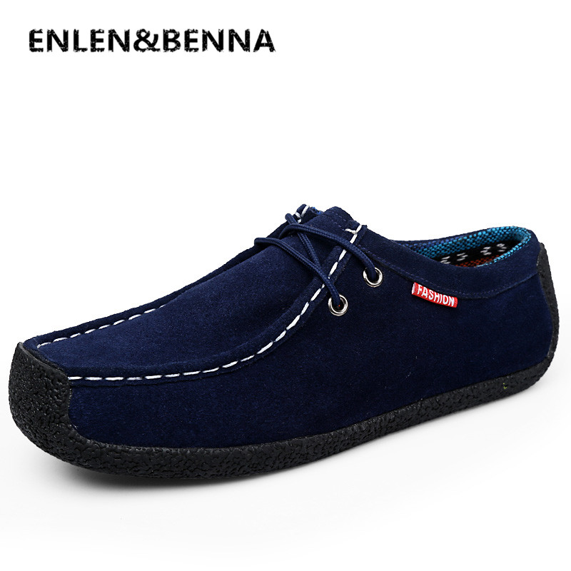 40e77b48b52 REETENE Fashion Summer Soft Moccasins Men Loafers Men Casual Suede Leather Loafers  Slip On Gommino Driving ...