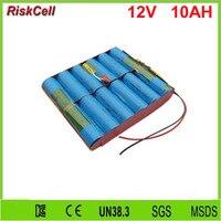 20pcs/lot 26650 4S3P rechargeable 12.8v 12v 10AH lifepo4 battery packs for Solar light backup