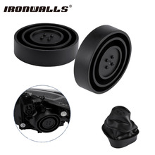 Ironwalls 2x Headlight Dust Cover Housing Car Styling Rubber Seal Caps Case 55mm/70mm/80mm/90mm/95mm For BMW e60 volvo chevrolet