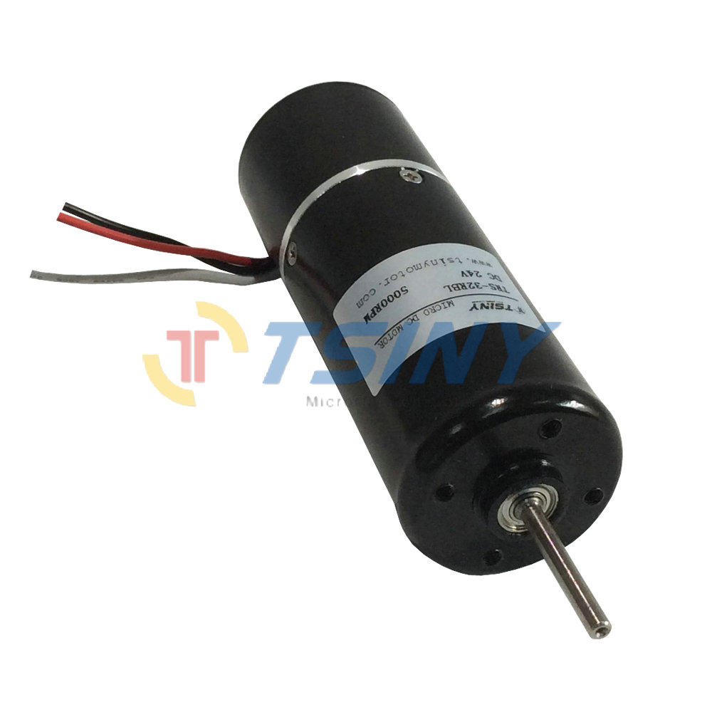 TSINY BLDC 32mm Diameter Small Electric Brushless DC Motor 24V 5000 RPM 24v high speed dc motor цена