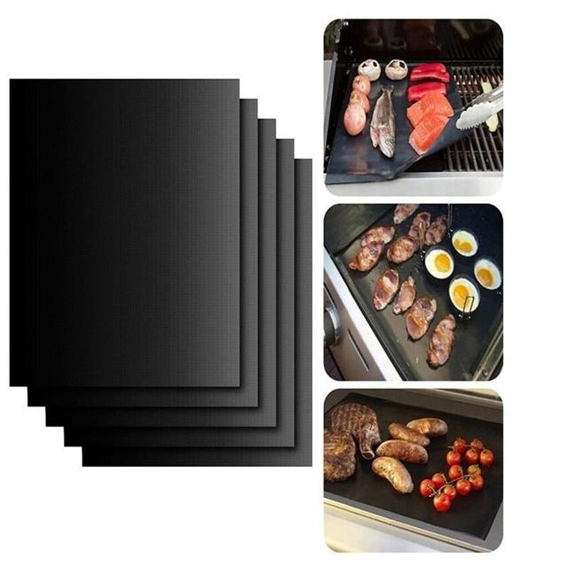 BBQ grill mat copper set of 3 1