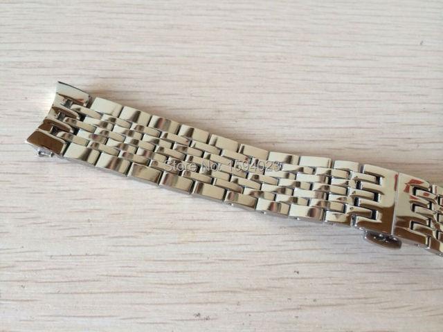 19mm Watch Parts force Locke T41 male strip Solid Stainless steel bracelet strap L264  L164/264-1