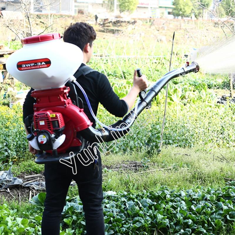 Agricultural Gasoline Engine Sprayer Gasoline Spraying Machine Food Pellet Machine Spray Dry Powder Machine 3WF-140AW gasoline