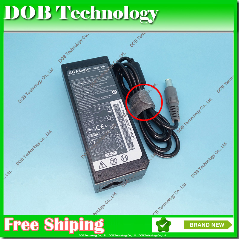 20V 4.5A 90W Laptop Ac Adapter Charger for Lenovo / Thinkpad T400 T410 T420 T430 T500 T510 T520 T530 T400s T410s T410i 20v 3 25a 65w laptop ac power adapter charger for lenovo t410 t410s t510 sl410 sl410k sl510 sl510k t510i x201 x220 x230 b490