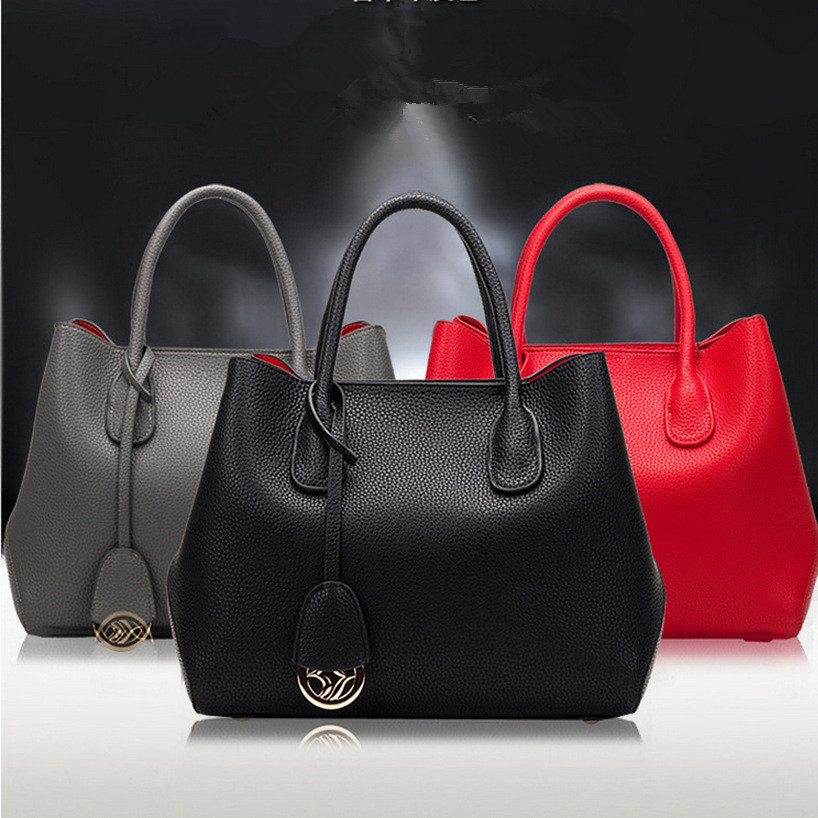 ZKW 2019 Platinum Bag Female Litchi First Layer Of Cowhide Genuine Leather Women's Handbag One Shoulder Cross-Body Bag Big