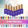 Sunrim Lucky ULTRAVIOLETA Del Clavo Gel de Uñas 15 ml Polaco de Clavo Magnético 30 Glitter Gel Len Colores Esmalte em Gel Lacas de Uñas para venta