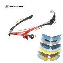 ROBESBON DIY UV400 поляризованные мужские женские велосипедные солнцезащитные очки оправа и линзы очки Спортивная одежда для Гор велосипед Oculos Ciclismo
