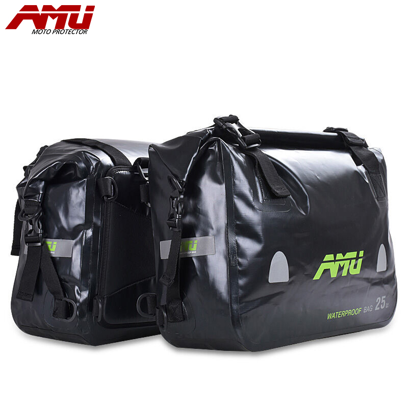где купить AMU Waterproof tank bag Motorcycle Bag Saddlebags Racing Riding Motor Helmet Bags Oil Travel Luggage Waterproof Bags B22&B23 дешево