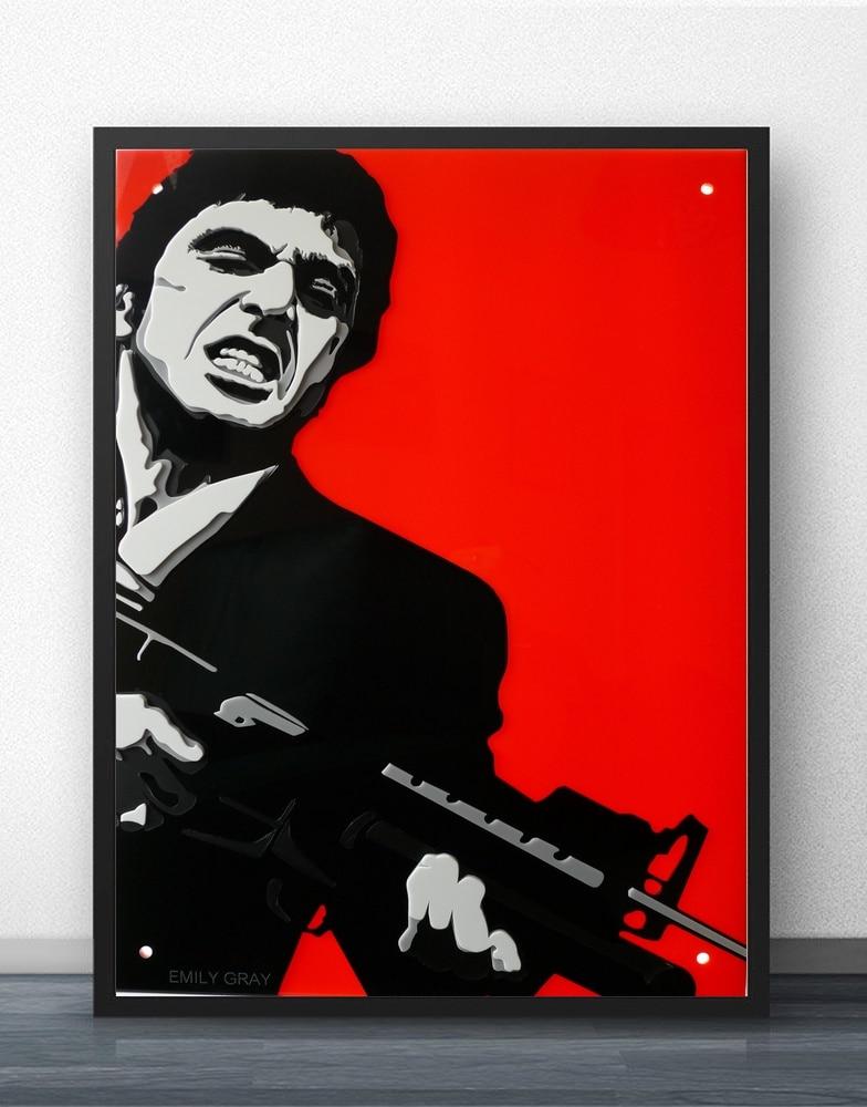 Scarface Classic Movie Art Silk Poster 12x18 24x36