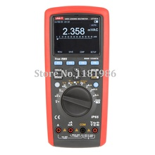 UNI-T UT181A True RMS Datalogging Digital Multimeters DMM Capacitance Temperature Meter w/Re-Chargeable Li-Battery EU Plug