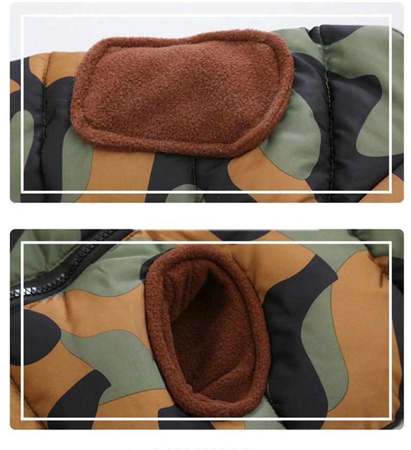 CROAL CHERIE 80-120cm Children`s Winter Jackets For Teenage Girls Warm Winter Parkas For Boys Camouflage Infant Overcoat (5)