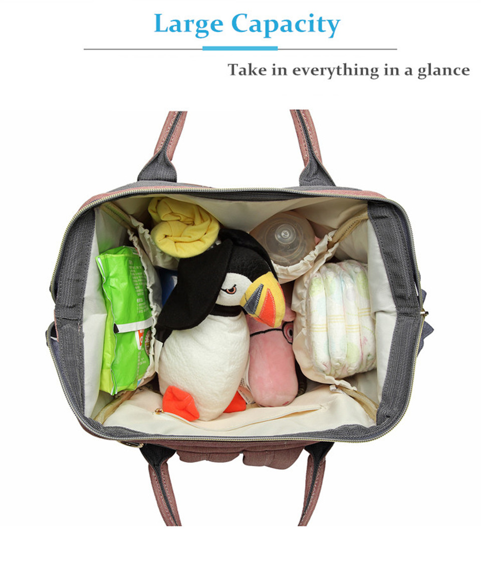 HTB1rROHXcvrK1Rjy0Feq6ATmVXad Nappy Backpack Bag Mummy Large Capacity Bag Mom Baby Multi-function Waterproof Outdoor Travel Diaper Bags For Baby Care