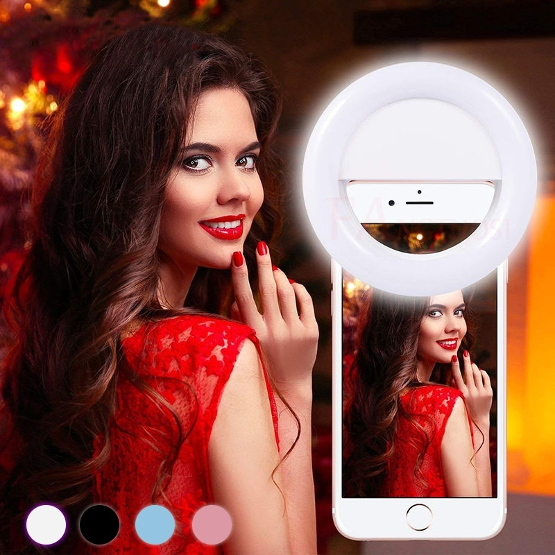 Selfie Ring Light Universal Round Licht For Camera Photography Case Anillo de luz selfie For iPhone/Samsung/Huawei Accessories