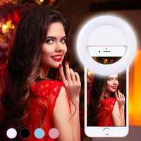Selfie Ring Licht Universal Runde Licht Für Kamera Fotografie Fall Anillo de luz selfie Für iPhone/Samsung/Huawei zubehör