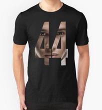 Formel Ein treiber #44 Lewis Hamilton Benutzerdefinierte Herren T-Shirt 100% Baumwolle Kurzarm Drucken T-shirt Schwarz S-XXL