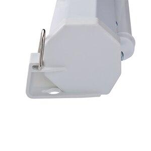 Image 4 - HD ウォールマウント投影電動スクリーン 60 72 84 100 インチ 16:9 または 4:3 プロジェクターホーム Theate ガラス繊維 1.2 ゲイン