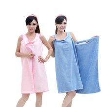 Mikrofaser handtücher Bademäntel 3 farben magie towls geburtstagsgeschenke für dame