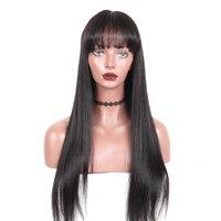 Синтетические волосы на кружеве человеческих волос парики с треском прямые 360 Синтетические волосы на кружеве al парик предварительно сорва