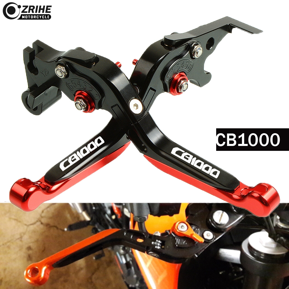 Adjustable extenable CNC Motorcycle brake clutch lever for Honda CB1000 Big one SC30 1993 1994 1995 1996