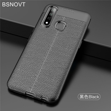 For Vivo Z5x Case Soft PU Leather Silicone Shockproof Bumper Cover Z1 Pro / 6.53 BSNOVT