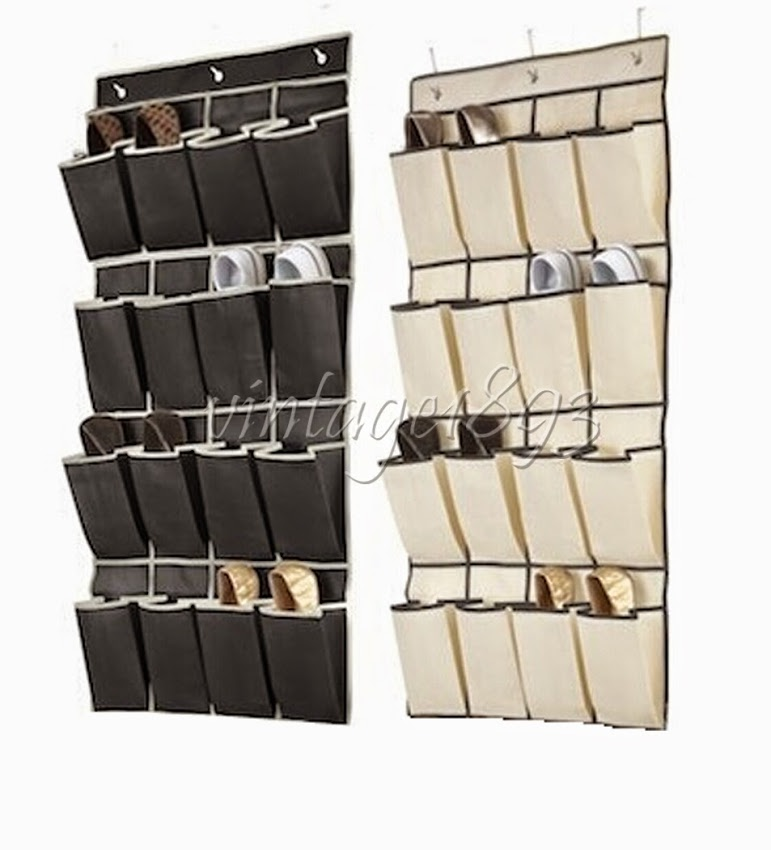 16 Pockets Clear Over Door Hanging Bag Shoe Rack Hanger Storage Tidy Organizer In Bags From Home Garden On Aliexpress Alibaba Group