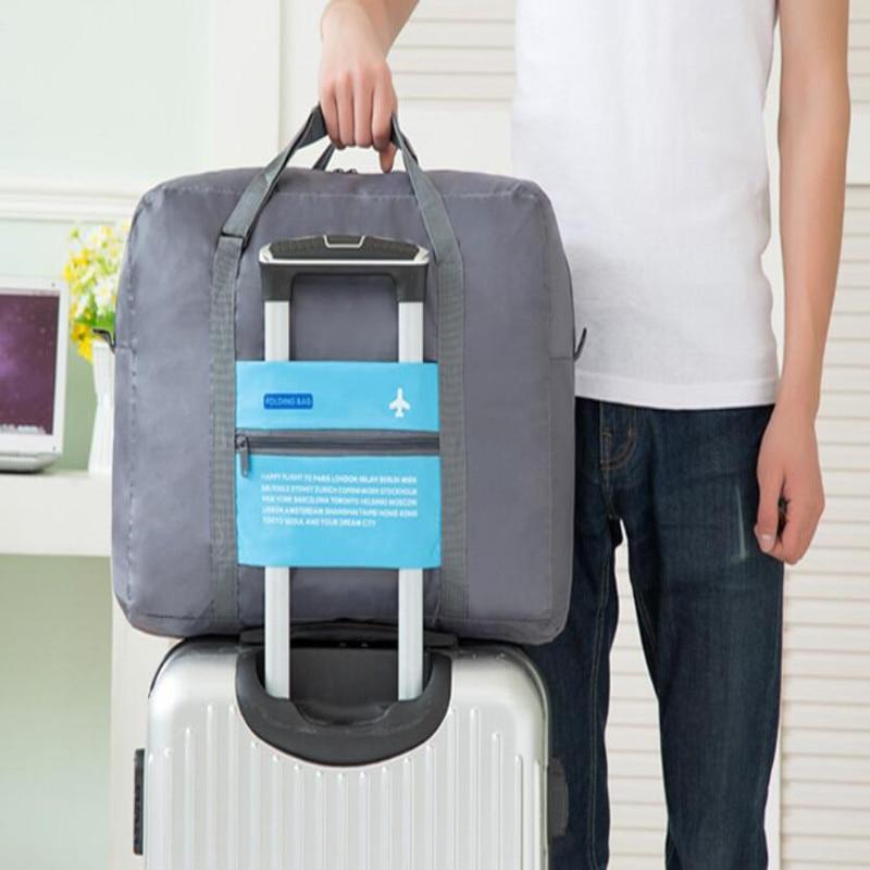 2017Newbring Travel Folding Bags WaterProof Travel Bag Large Capacity Bag Women Nylon Folding Bag Unisex Luggage Travel Handbags