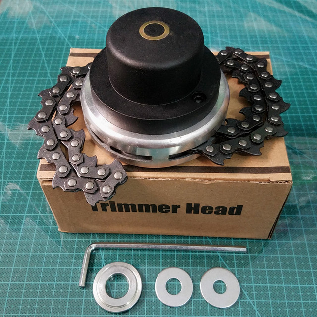 Chain Grass Trimmer Head Trimmer Lawn Mower Brushcutter for Garden Grass Cutter Spare Parts Tools for Trimmer Garden Tools