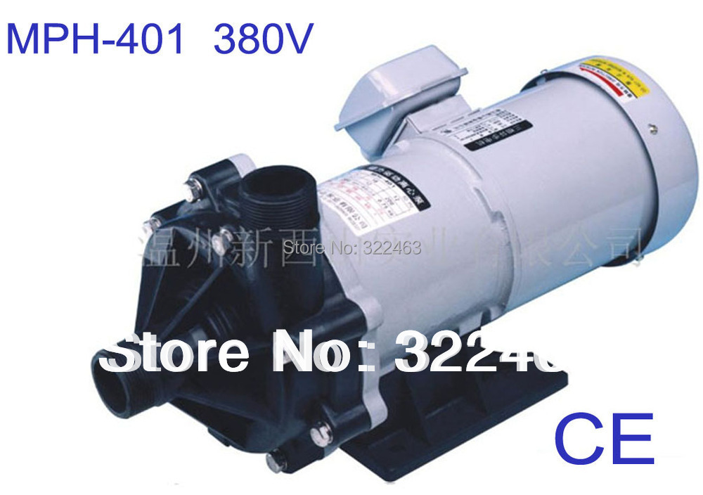 CE Approved three-phase magnetic drive pumps MPH-401 50HZ 380V large centrifugal pump water ,pollution,chemical,metal industry цена и фото