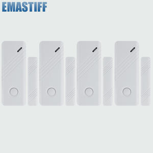 Window-Gap-Sensor Alarm-System Dector Door World-Guard 433mhz Wireless 4pcs for GSM New-Product