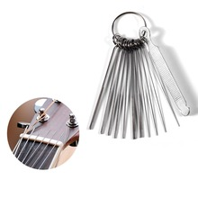 Portable Size DIY Guitar Repair Tools Guitar Nut Slotting File Saw Rods Slot Filing Set Luthier Replacement Accessory 2017 Hot