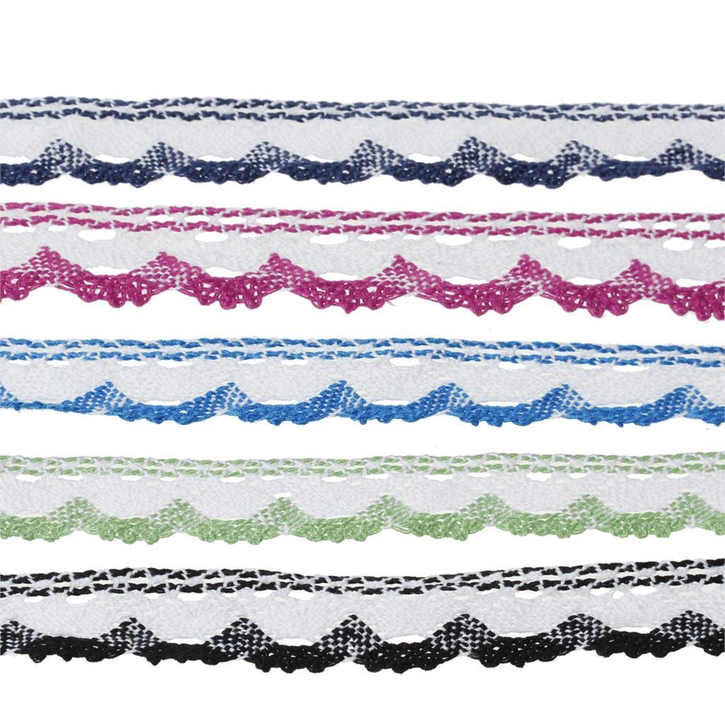 ٩(^‿^)۶Doreenbeads algodón crochet tassel TRIM Encaje mixta 25.0mm ...