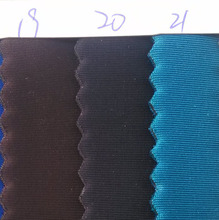 delicate touch feeling Black lycra fabric coated SRB Neoprene rubber fabrics 2.5MM thickness