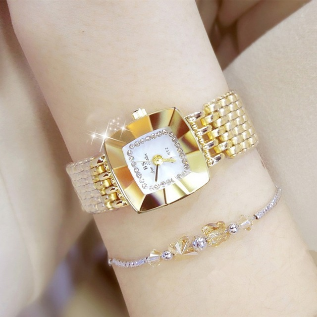 Brand Luxury Women Bracelet Watches Fashion Girl Dress Wristwatch Ladies Quartz
