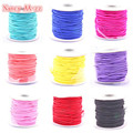 Factory Price 2mm 30Yards/roll Round Strong Elastic Stretch Beading Wire/Cord/String/Thread For DIY Jewelry Making 9 Colors