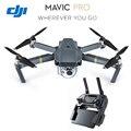Новый Оригинальный DJI Mavic Pro GPS Складной Drone ж/4 К HD Камеры Стабилизированный Gimbal & OcuSync PRESELL