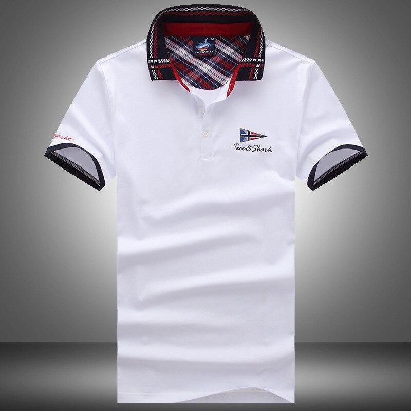 2017 New Brand Top T Shirt Fashion Solid Short Sleeve Slim Fit T Shirts Men Cotton Tee Shirt Casual Shark Men Cotton T-Shirt женская футболка brand new t slim fit 3 sv007962