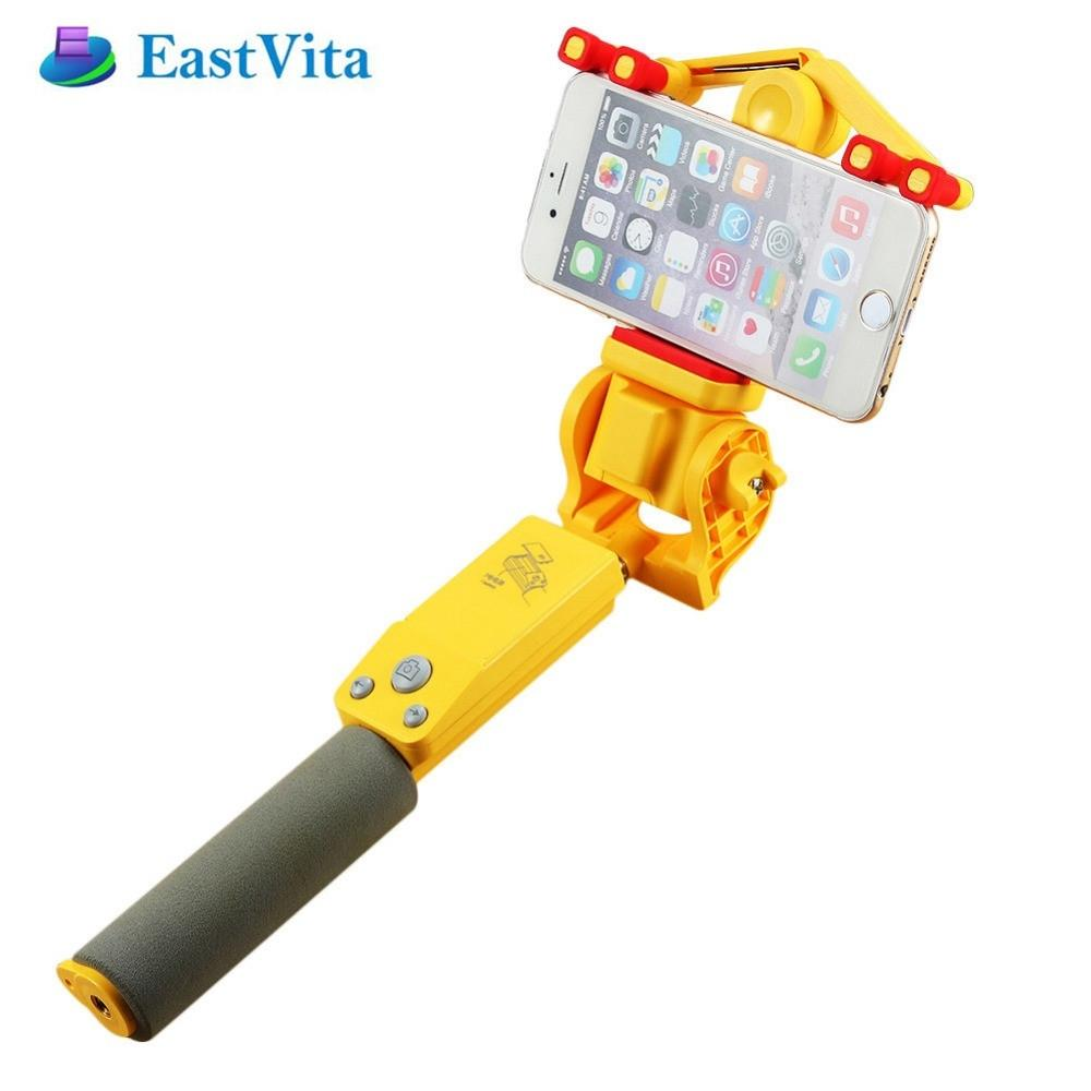 EastVita 360 degrés Smart Rotation Extensible Selfie Bâton trépied Sans Fil Bluetooth Télécommande pour IOS 4.0 Android 2.3 + r15