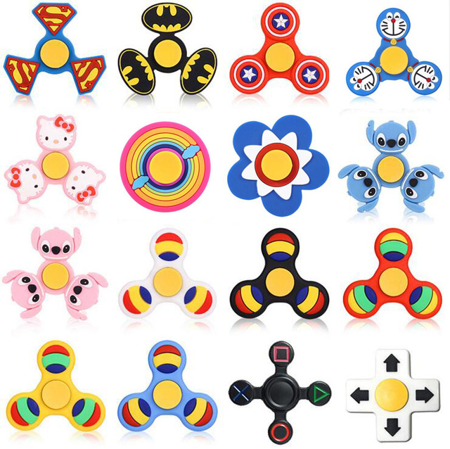 High Speed Edc Metal Hand Finger Fid Tri Spinner Focus Toy Metal