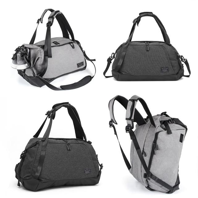 01ed70f2f8a8 Новая мужская спортивная сумка с обувью Compart Мужская водостойкая сумка  унисекс Открытый рюкзак через плечо прочный