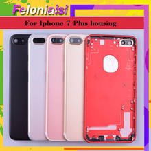 Original For APPLE iphone 7 7G iphone 7 Plus 7plus case body chassis full housing shell assembly battery cover Door Middle Frame allen bradley 1756 a7 b 1756a7 controllogix 7 slots chassis new and original 100