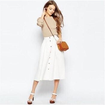 e1198a5b6 Женские юбки с высокой талией Saia 2019 оптовая продажа женской одежды  сезон: весна-лето юбки для женщин женский Vestidos B301