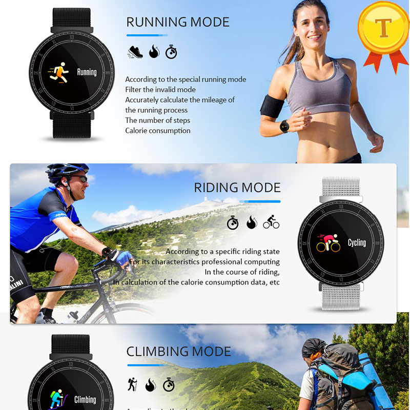 New Arrival IP67 Smart Sports Bracelet with Motion Analysis Health Management All-Steel Design Smartband For Outdoor Sports