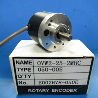 Free shipping OVW2-25-2MHC 2500PR OD 38mm shaft diameter 6mm rotary decoder new in box ovw2 12 2mhc 1200p r 38 mm solid shaft rotary encoder diameter 6 mm diameter of axle new in box free shipping