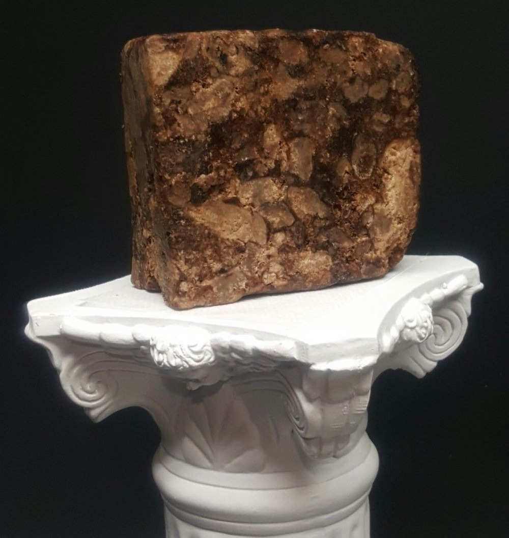100% Natural Raw African Black Soap BAR Organic Unrefined GHANA 100g Free Ship100% Natural Raw African Black Soap BAR Organic Unrefined GHANA 100g Free Ship