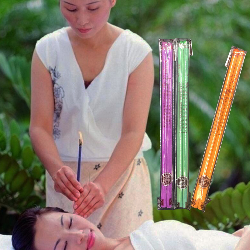 40 stk. Coning Beewax Natural Ear Candle Øre Candling Therapy - Sundhedspleje - Foto 4