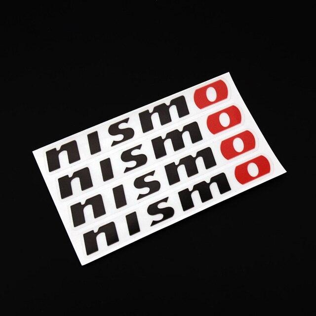 ETIE New Design Red Nismo Sun Logo Car Door Handle Decal Stickers - Custom vinyl stickers transparent