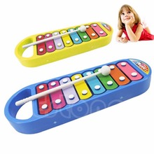 1Pc Kid Baby 8-Note Xylo-phone Musical Instrument Toy Wisdom Development Child #K4UE# Drop Ship