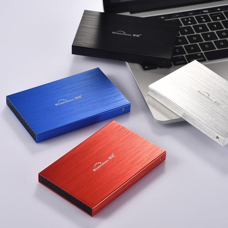 Blueendless Портативный Внешние жёсткие диски 1 ТБ жесткий диск устройств хранения ноутбука рабочего HD экстерно